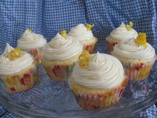 meyer lemon cupcakes
