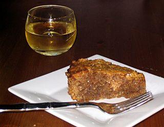 honey nut cake