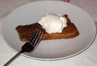 walnut tweed cake